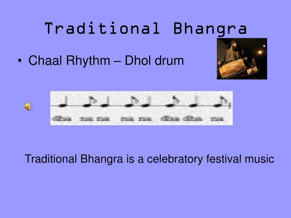 Traditional Bhangra