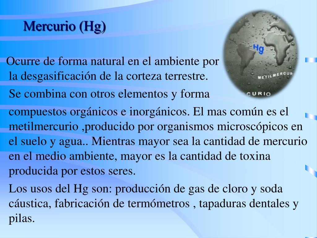 Mercurio (Hg)