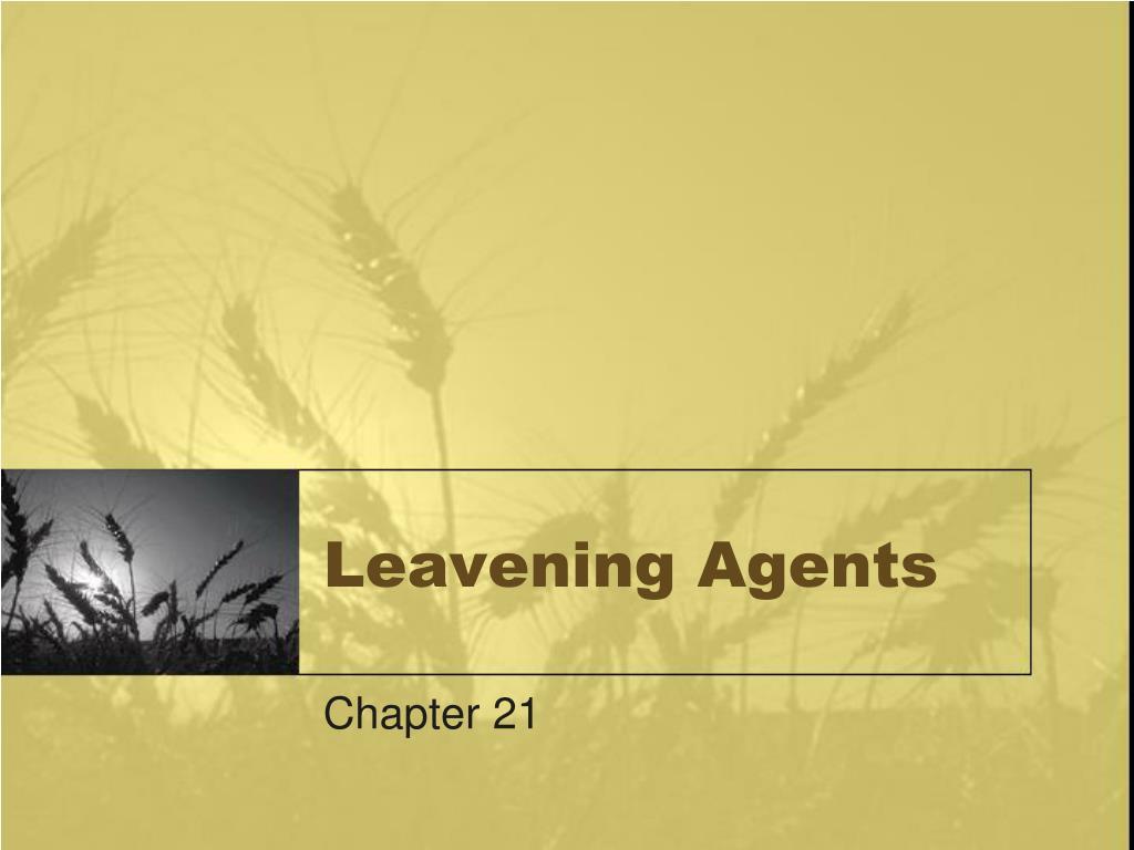 Leavening Agents
