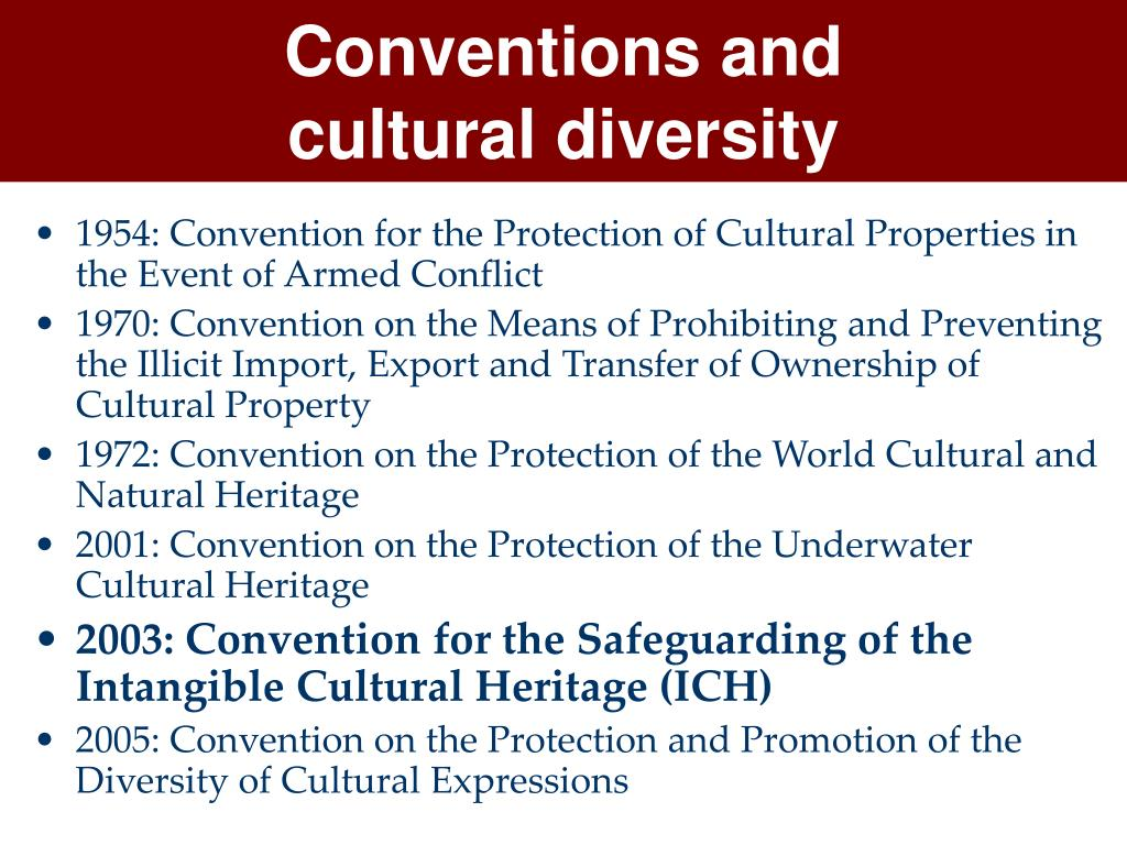 Conventions and