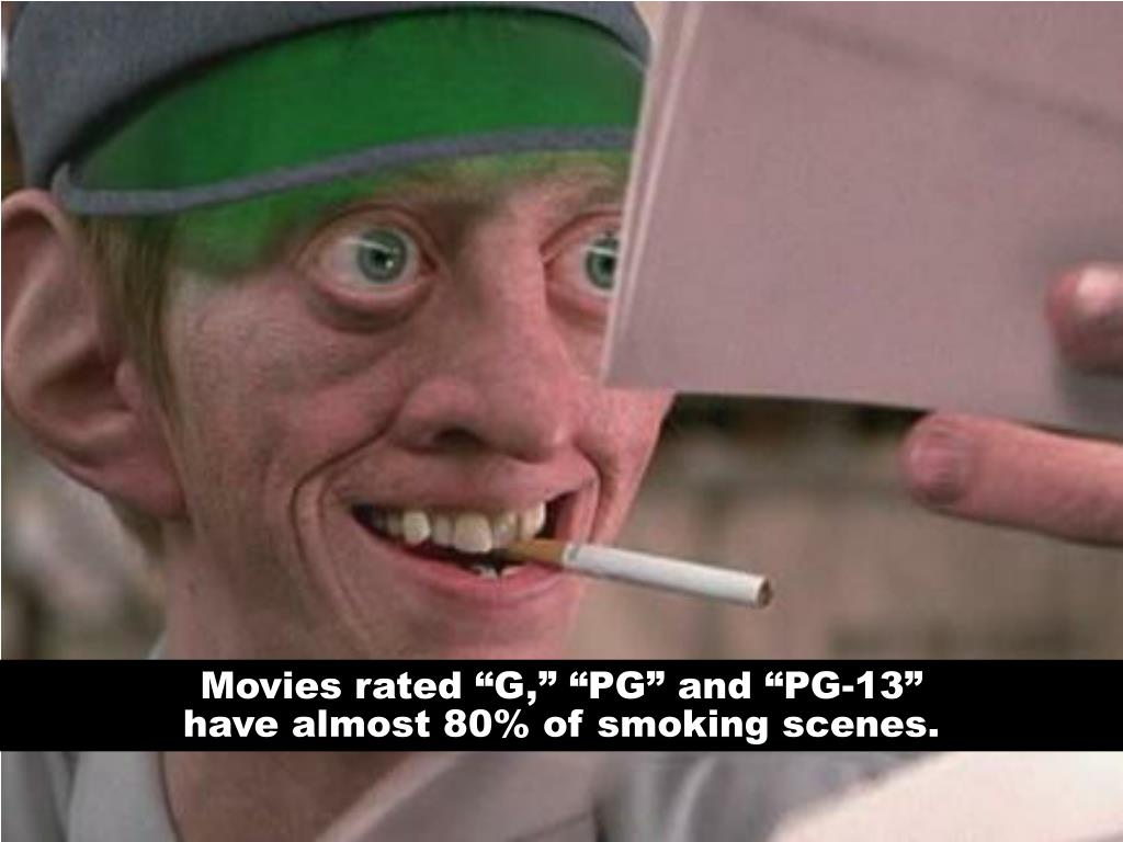 "Movies rated ""G,"" ""PG"" and ""PG-13"""