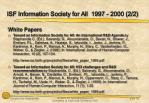 isf information society for all 1997 2000 2 2