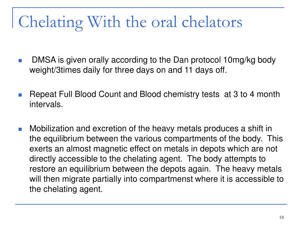 Chelating With the oral chelators