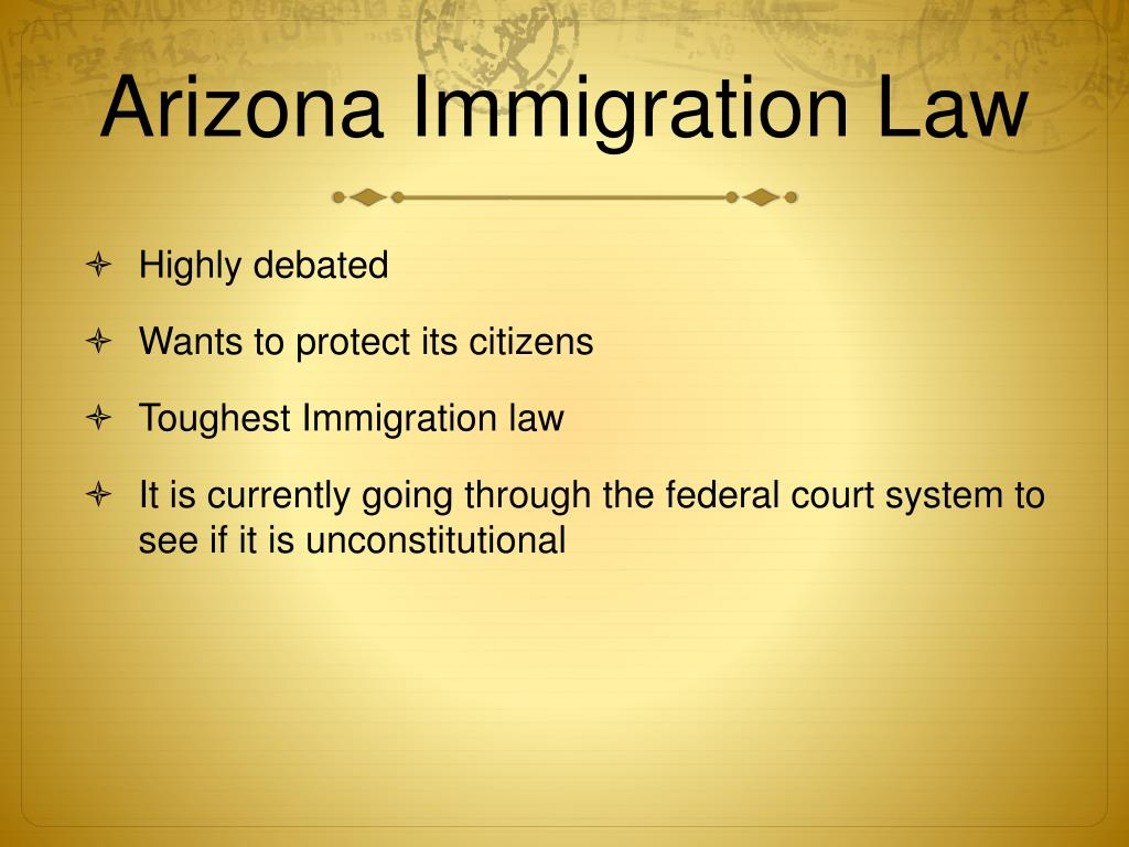 essay for arizona immigration law Arizona immigration law research paper just imagine if you can create your own resume like a professional resume writer and save on cost now you can.