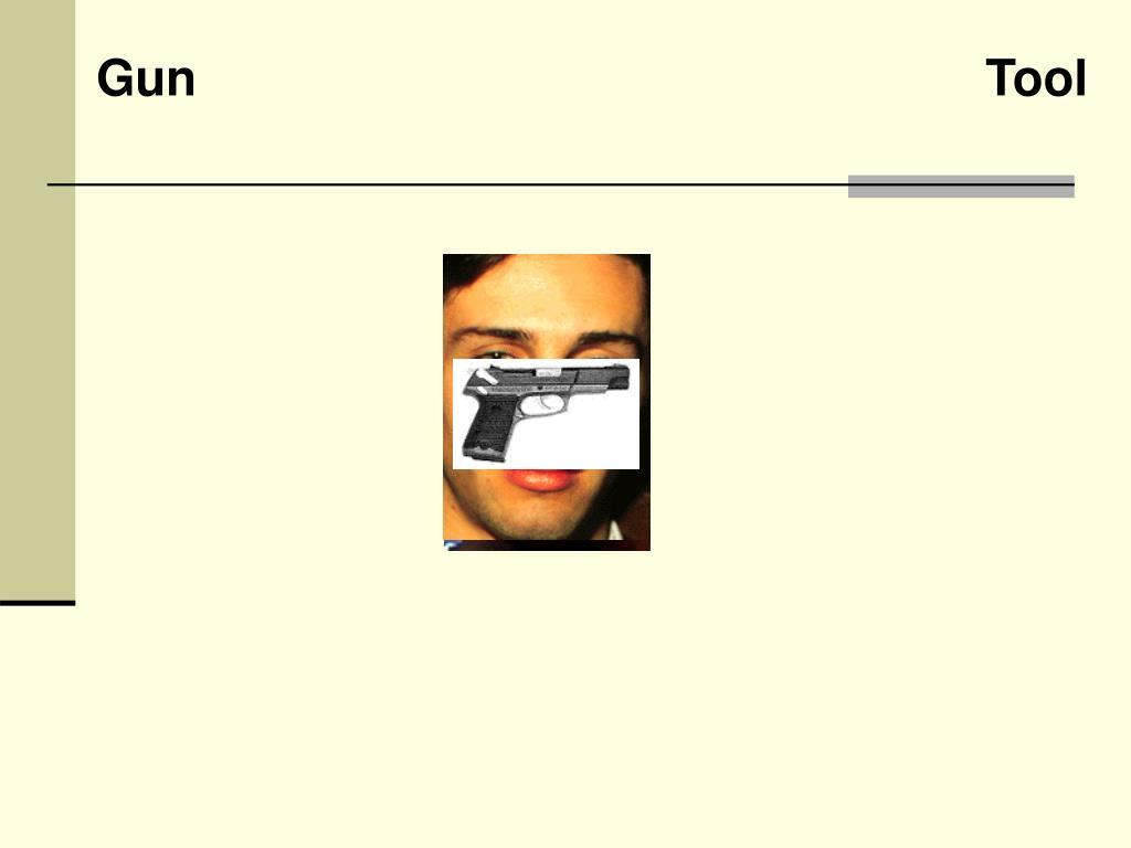 Gun                             Tool