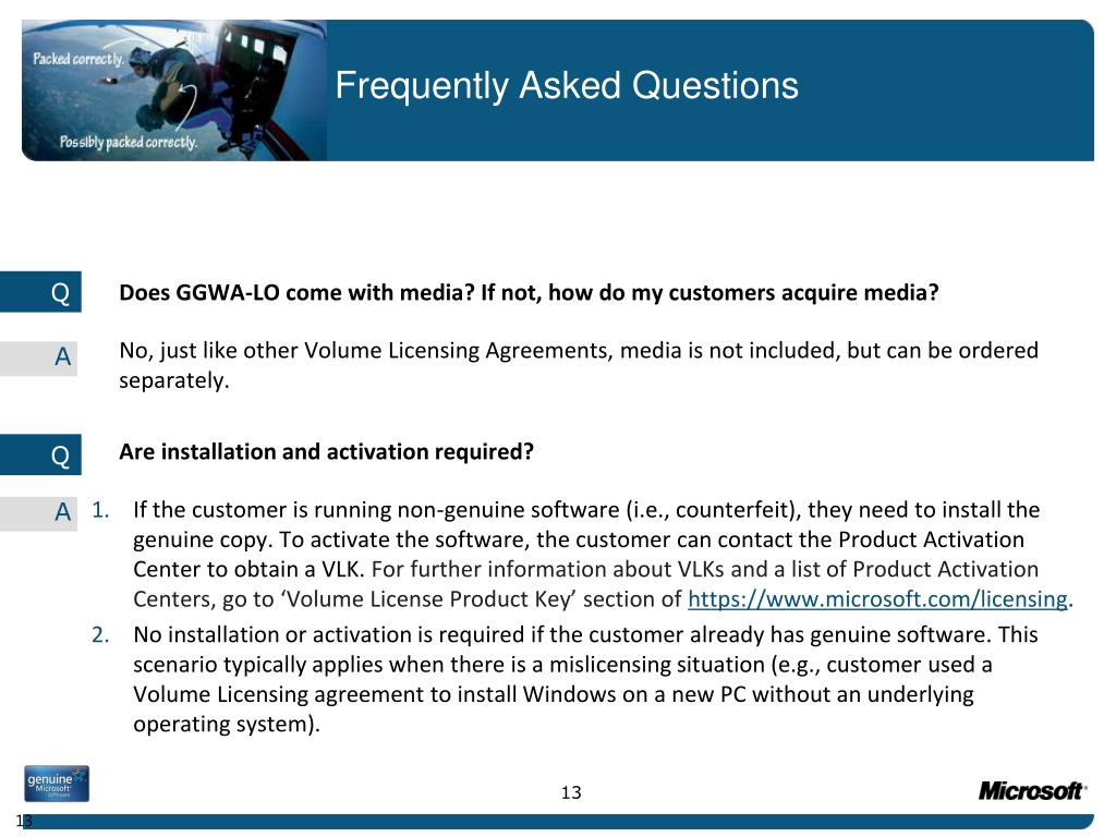 Does GGWA-LO come with media? If not, how do my customers acquire media?