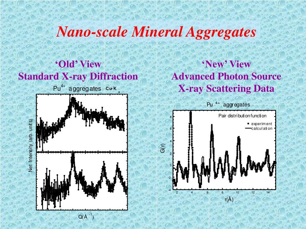 Nano-scale Mineral Aggregates