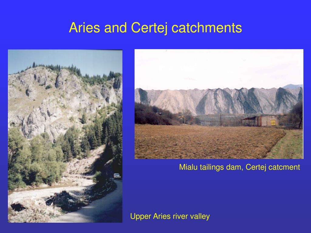 Aries and Certej catchments