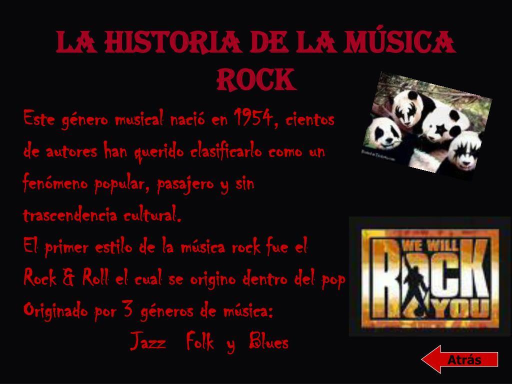 La Historia de la Música Rock