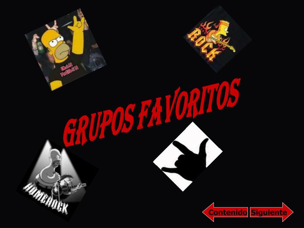 Grupos Favoritos