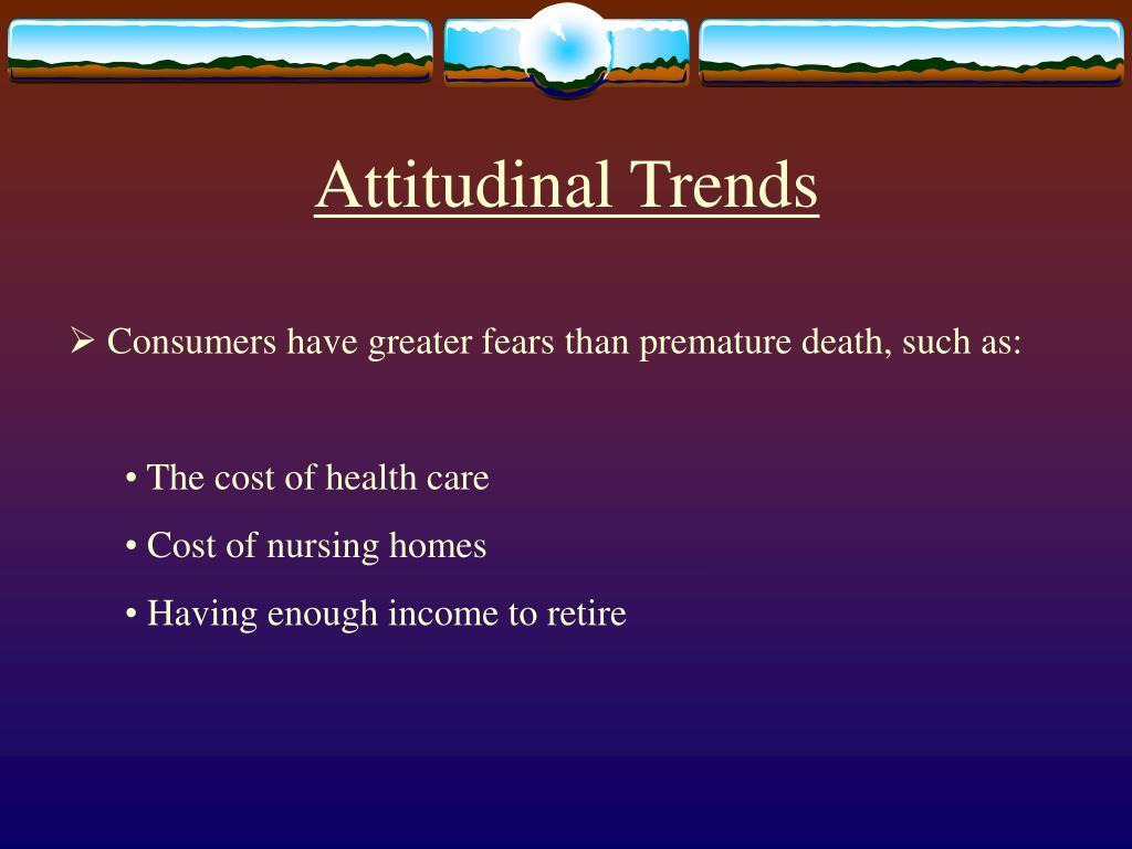 Attitudinal Trends