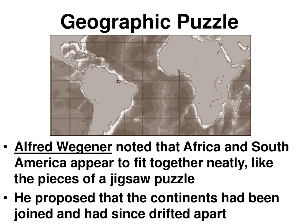 Geographic Puzzle