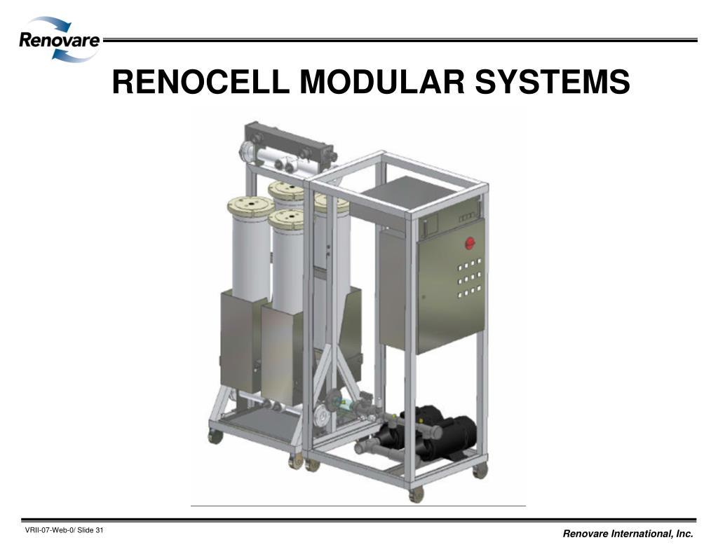 RENOCELL MODULAR SYSTEMS