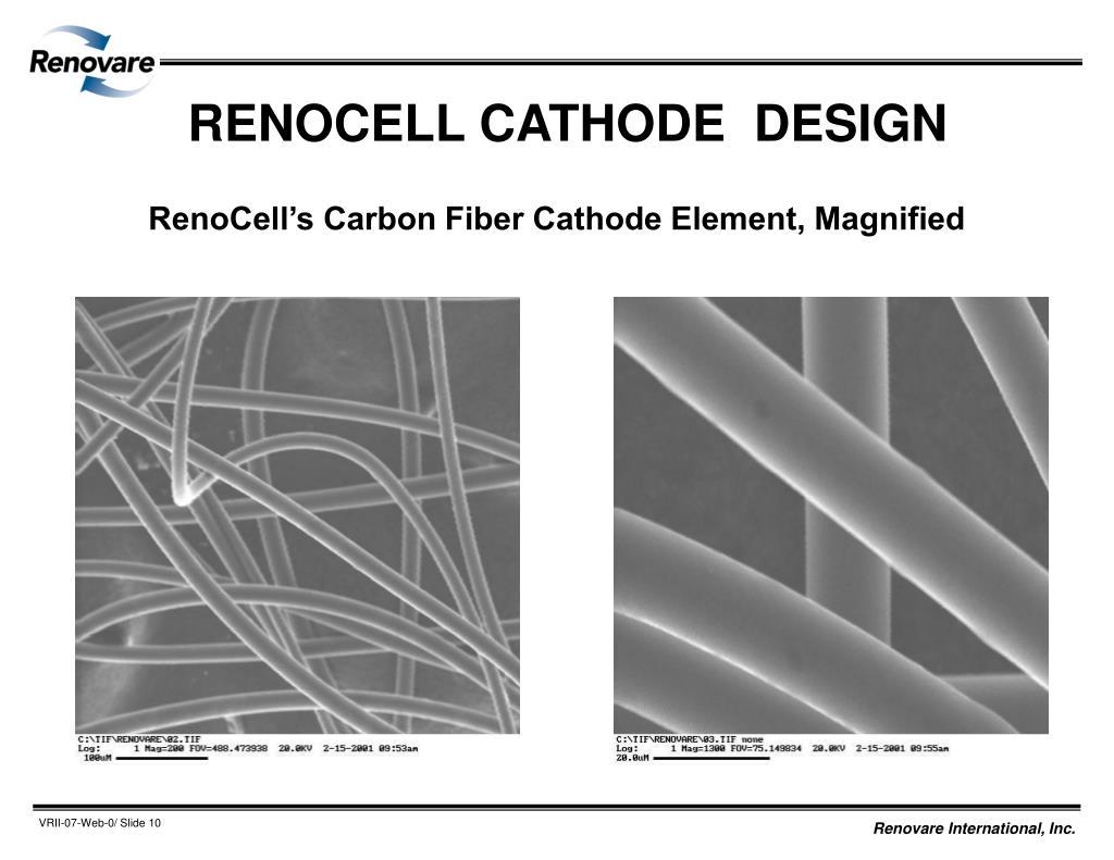 RENOCELL CATHODE  DESIGN