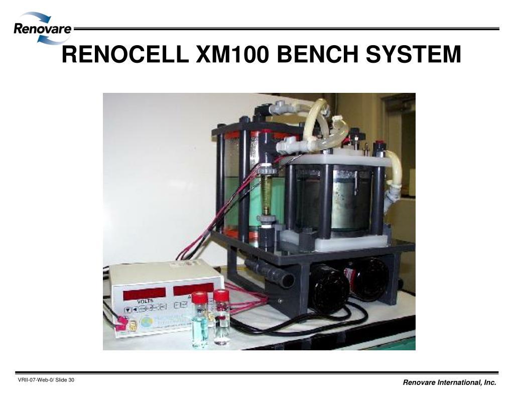 RENOCELL XM100 BENCH SYSTEM