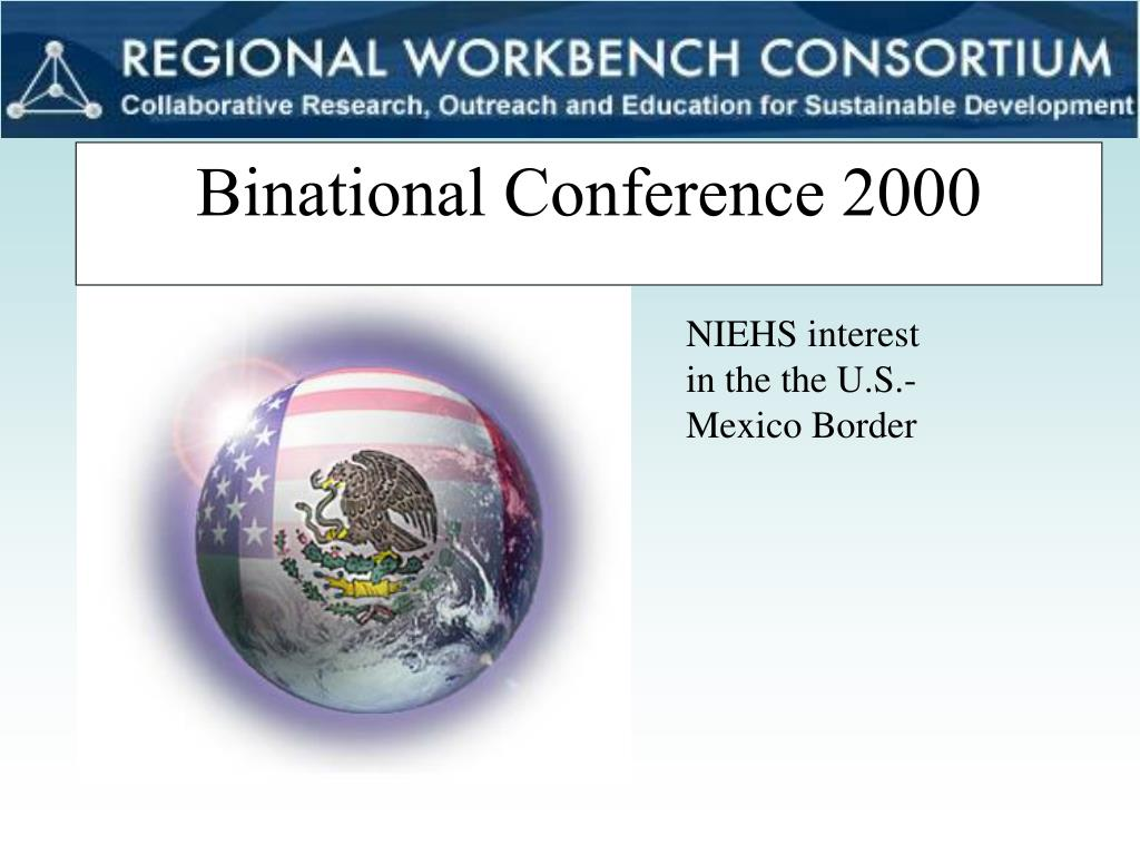 Binational Conference 2000