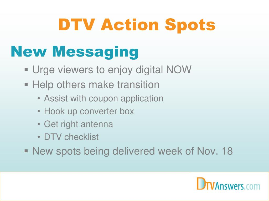 DTV Action Spots