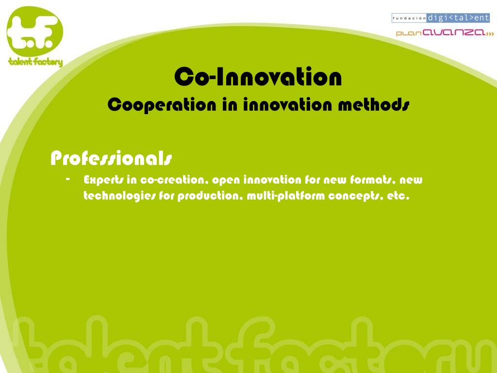 Co-Innovation