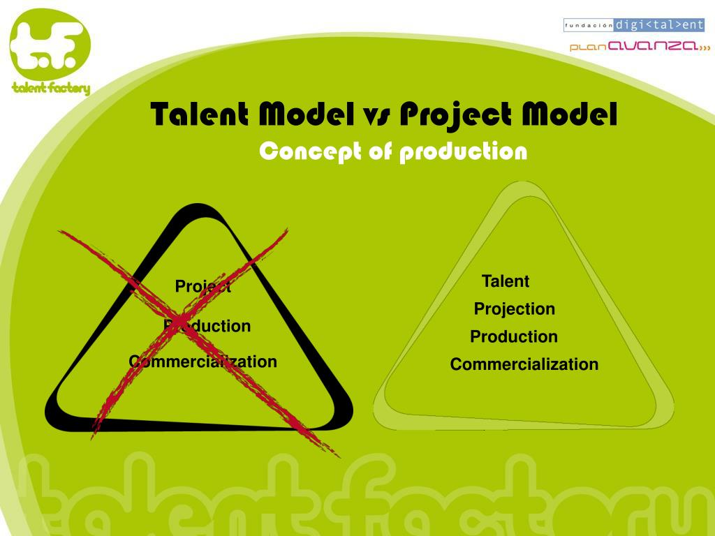 Talent Model vs Project Model