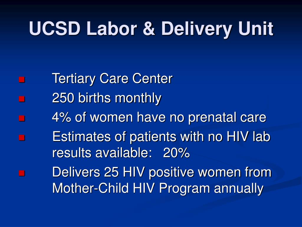 UCSD Labor & Delivery Unit