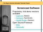 screencast software