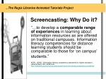 screencasting why do it5