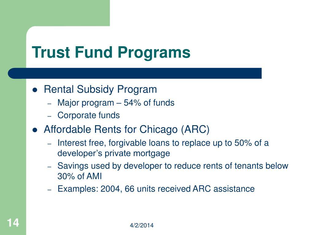 Trust Fund Programs