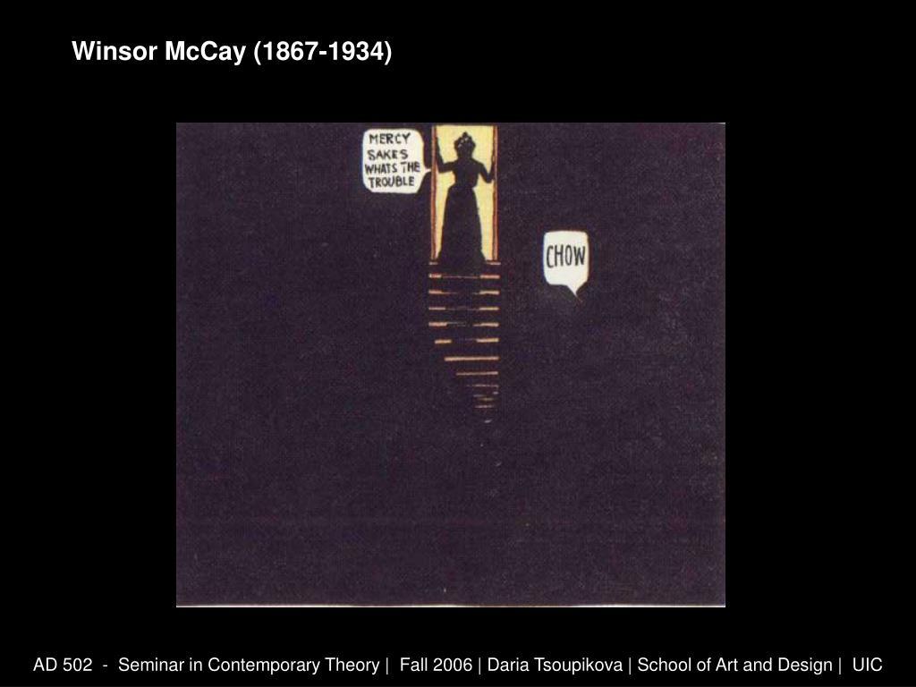 Winsor McCay (1867-1934)