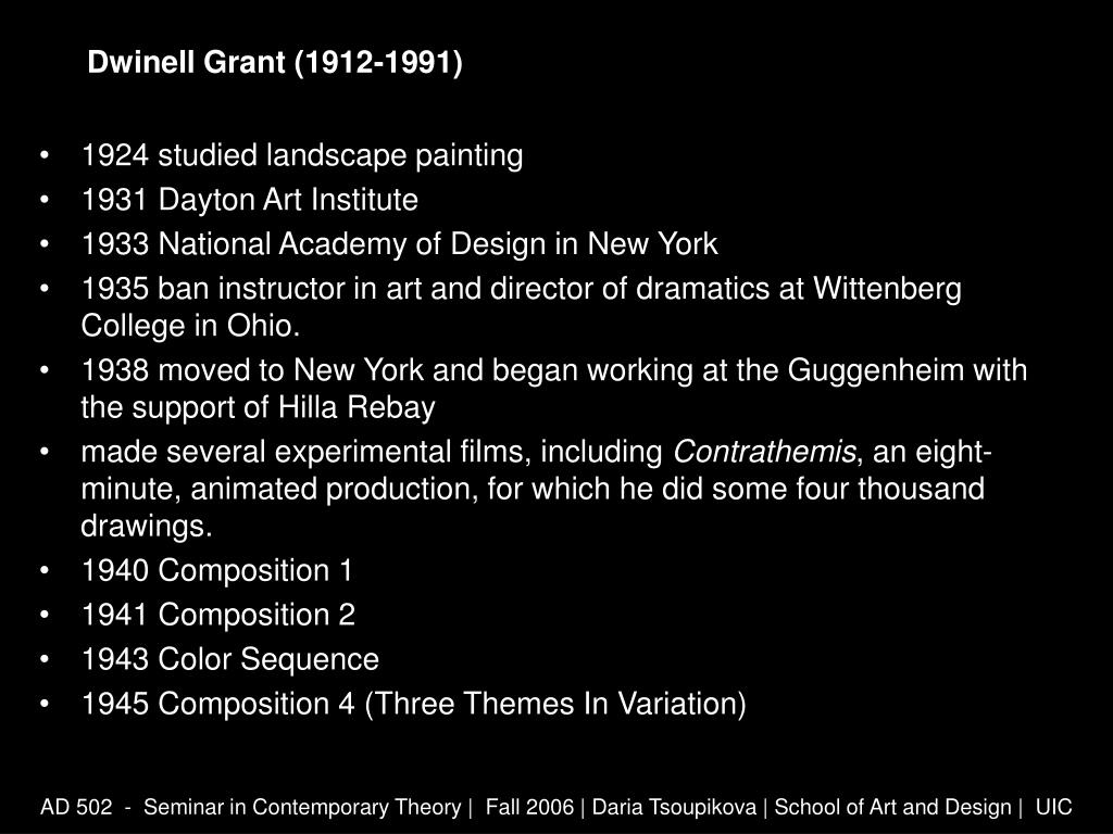 Dwinell Grant (1912-1991)