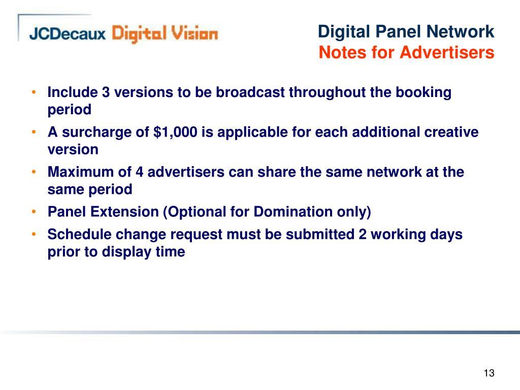 Digital Panel Network