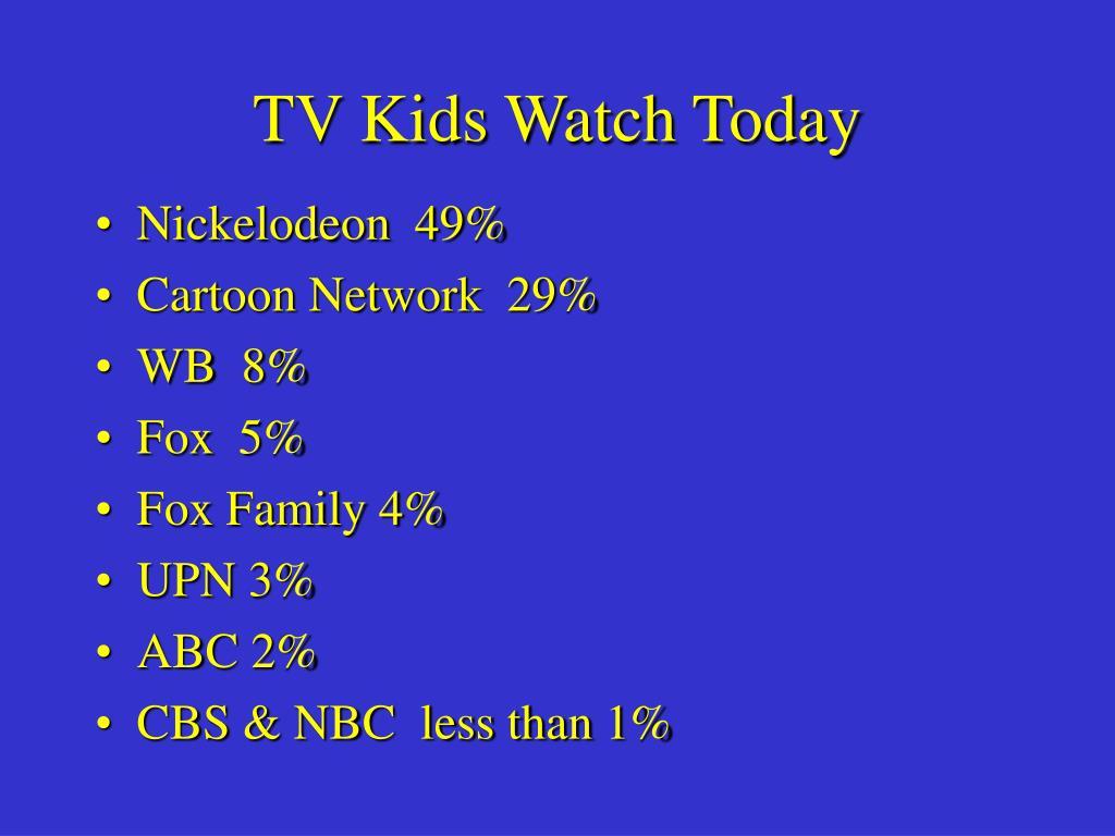 TV Kids Watch Today
