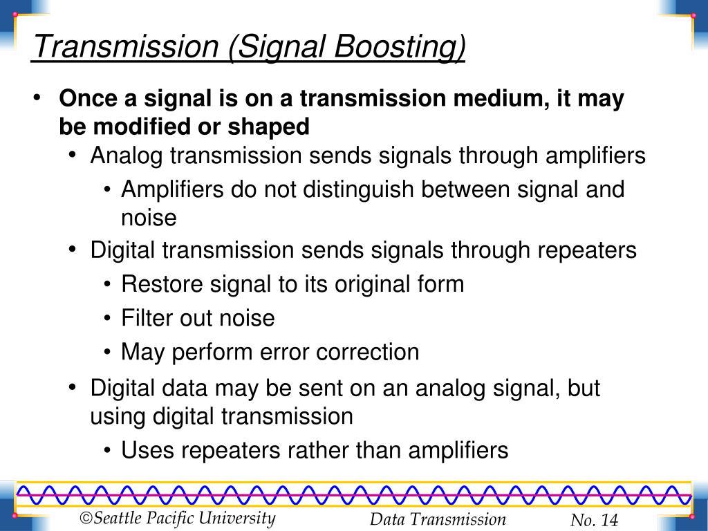 Transmission (Signal Boosting)