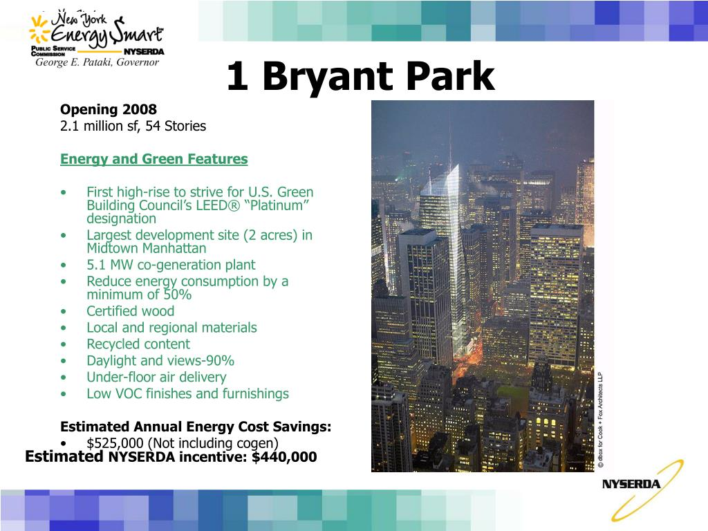 1 Bryant Park