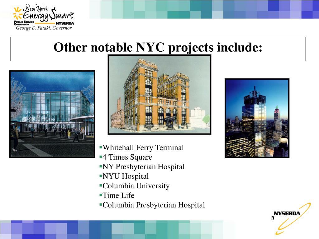 Other notable NYC projects include: