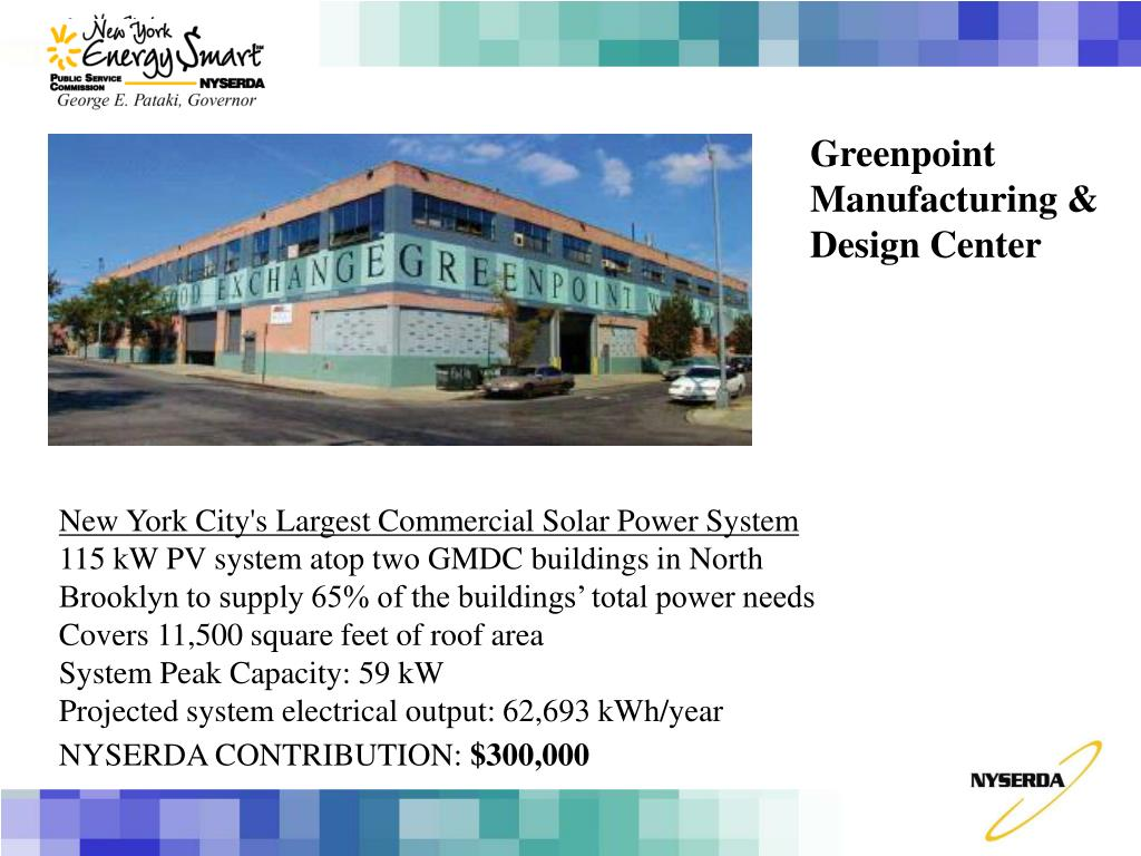 Greenpoint Manufacturing & Design Center