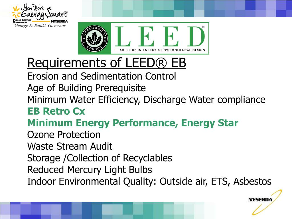 Requirements of LEED