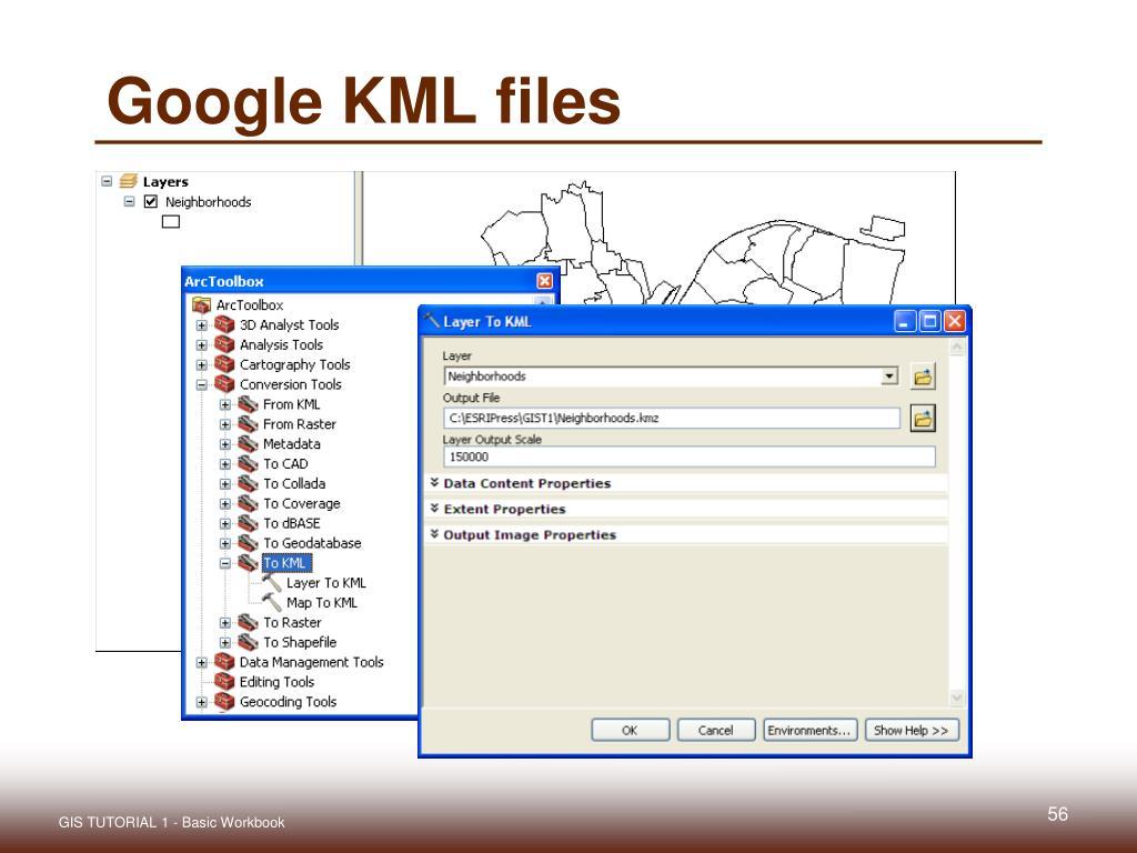 Google KML files