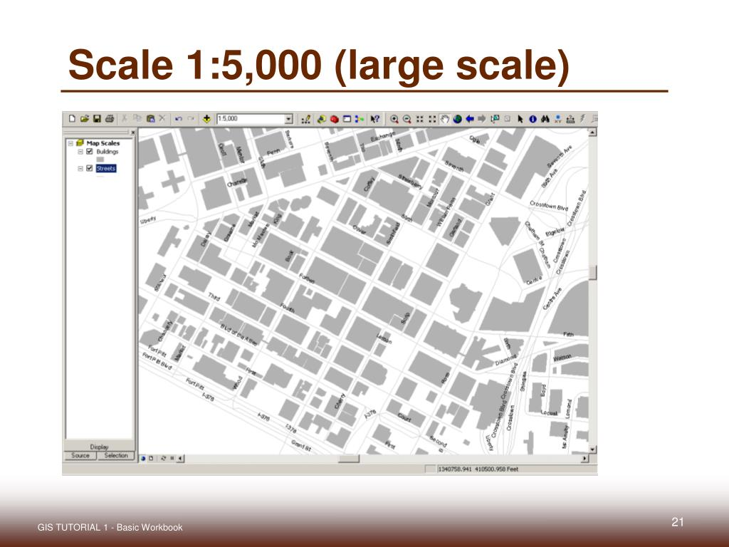 Scale 1:5,000 (large scale)