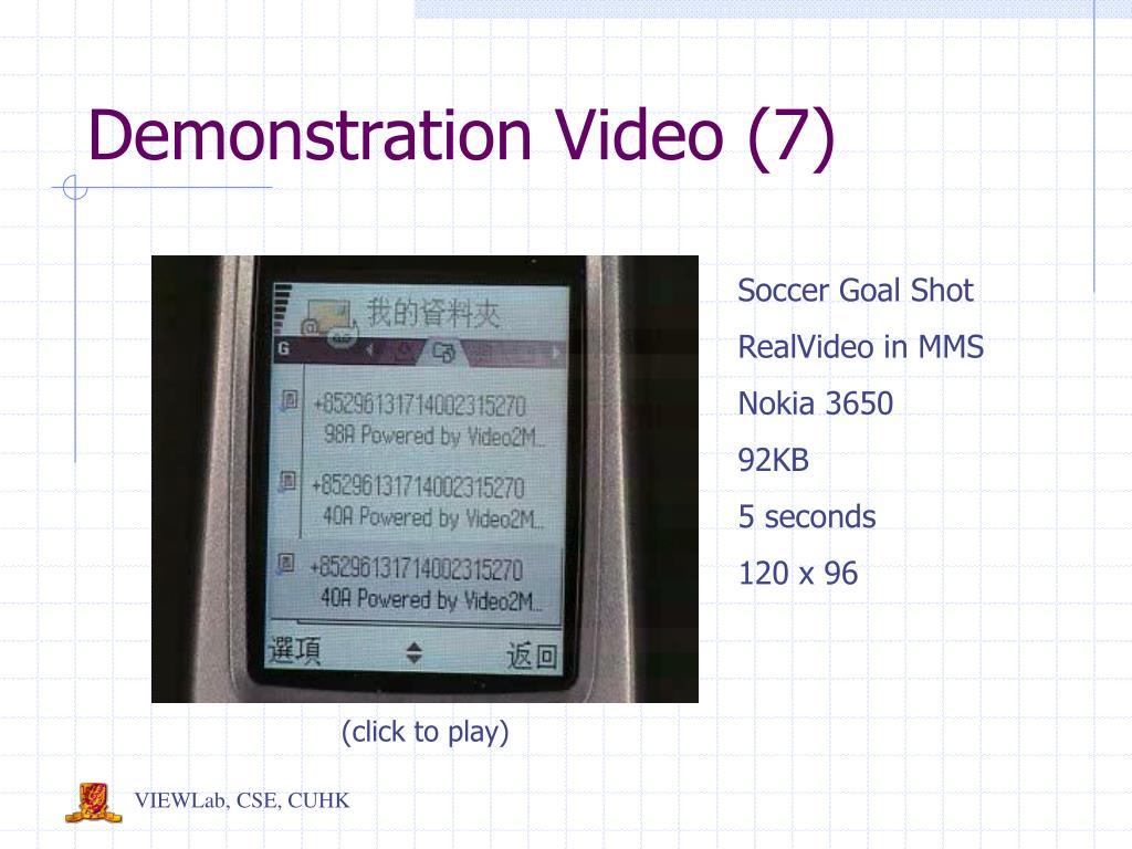 Demonstration Video (7)