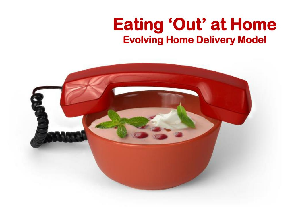 Eating 'Out' at Home