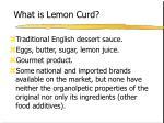 what is lemon curd