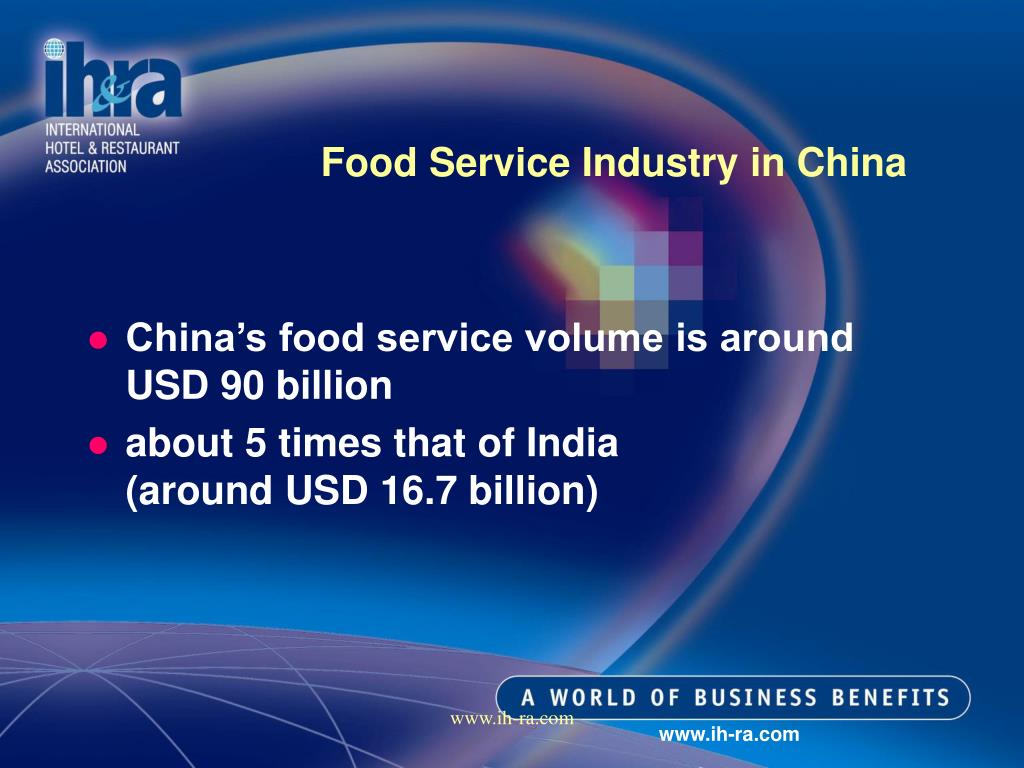 Food Service Industry in China