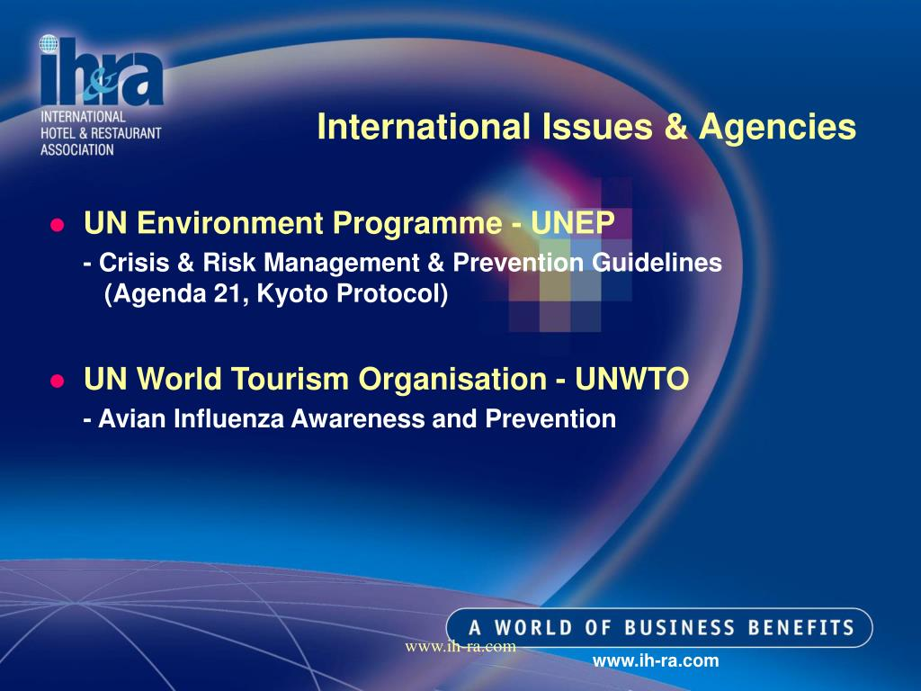 International Issues & Agencies
