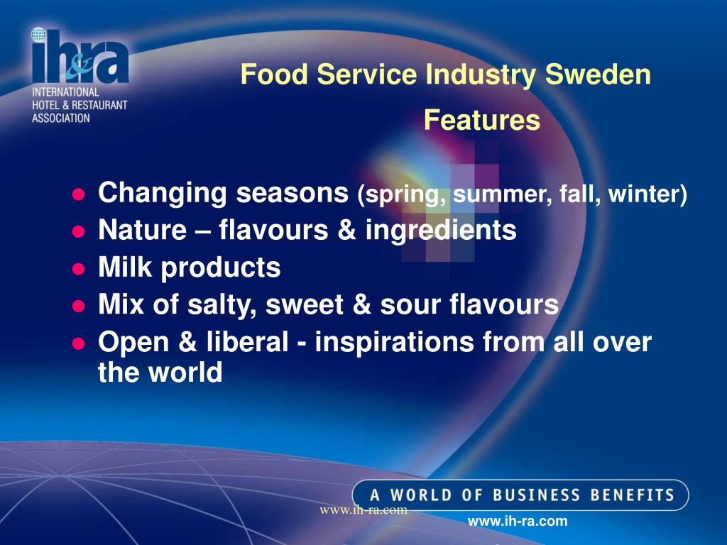 Food Service Industry Sweden