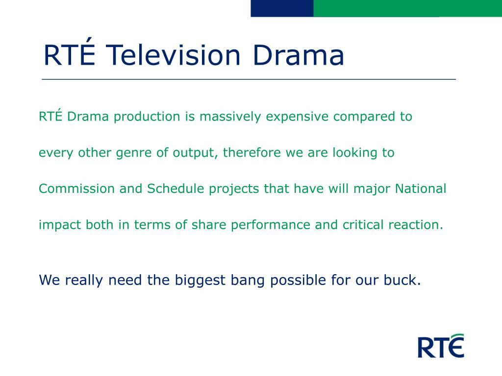 RTÉ Television Drama