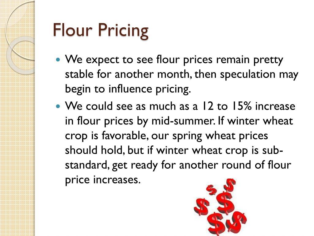 Flour Pricing