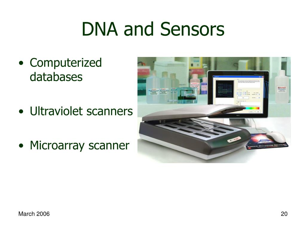 DNA and Sensors