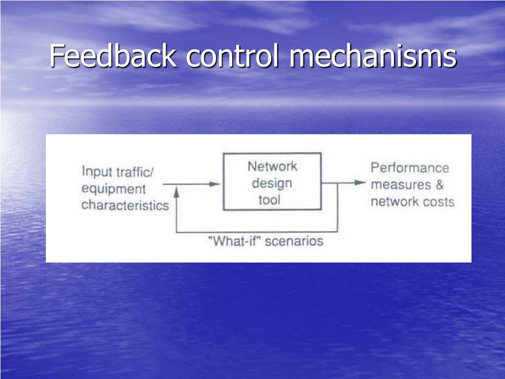 Feedback control mechanisms