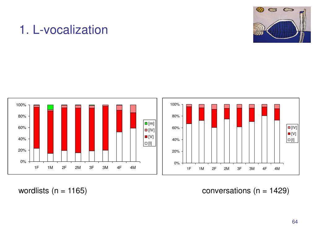 1. L-vocalization