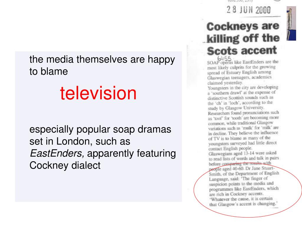 the media themselves are happy to blame